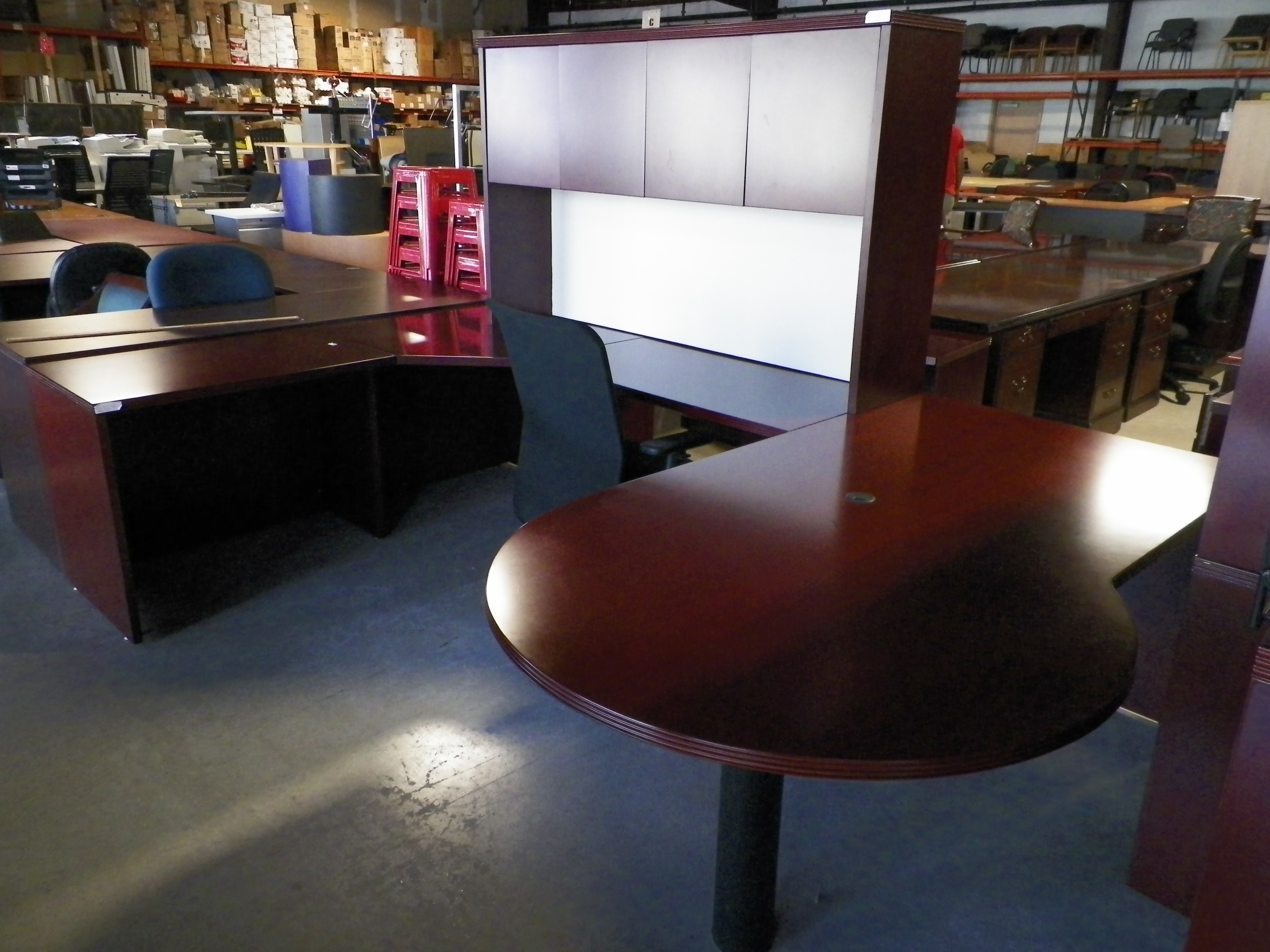 Used and Refurbished fice Furniture TOPS