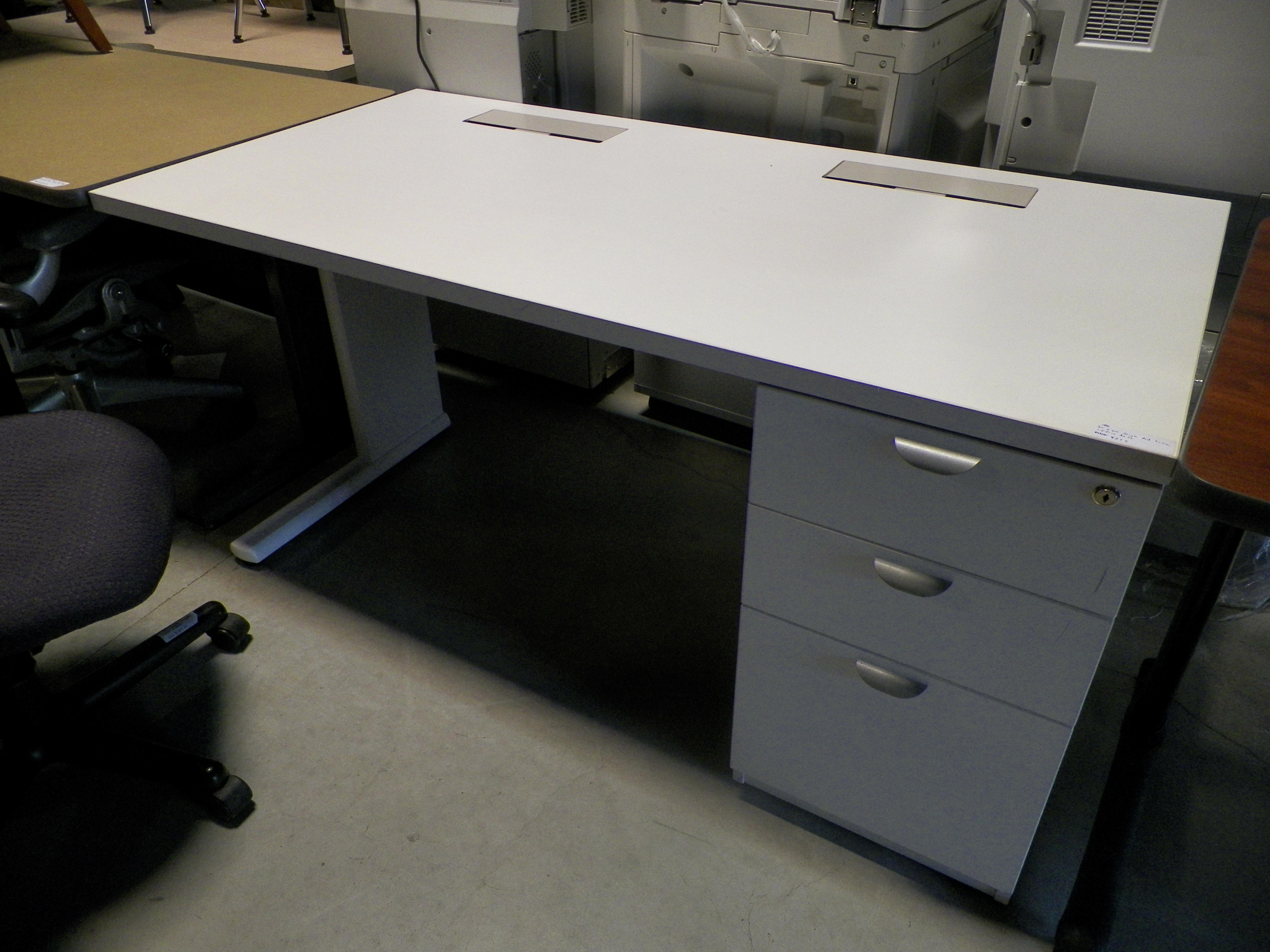 antique desk quarter drawer with brass oak file sawn sold shop feet