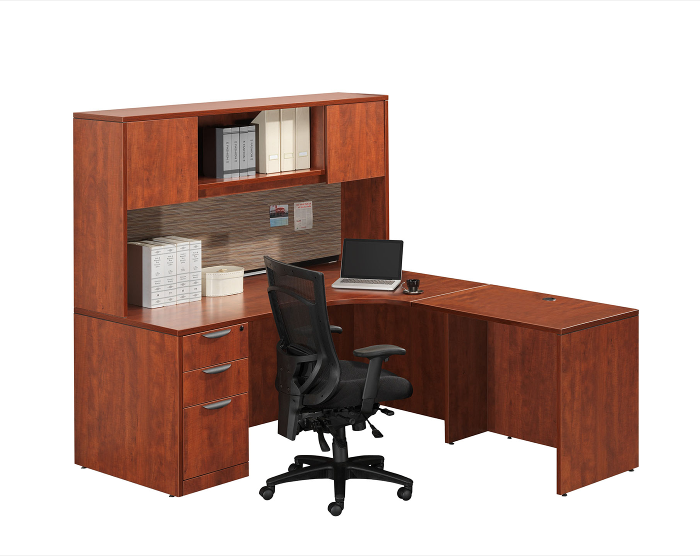 New Cherryman D Top Peninsula L Desk With 30 Return To Email On This Item
